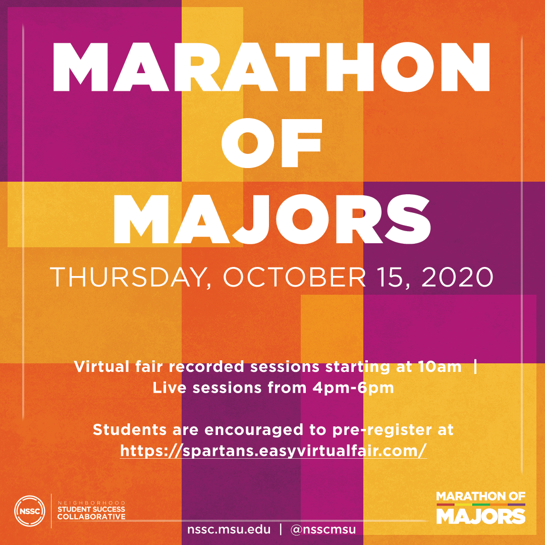 Marathon of Majors flyer